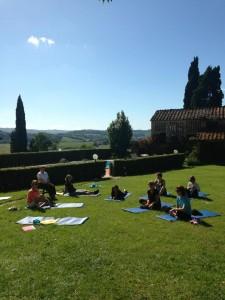 Yogakurs i Toscana maj-13